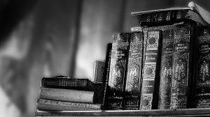 Książki - czarnobiałe